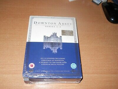 Downton Abbey Series 1-4 Brand New Sealed Uk Region Dvd  # Free Post