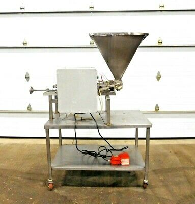"MO-3258, STAINLESS STEEL FILLING STATION. 304 SS. 27"" x 24"" HOPPER."
