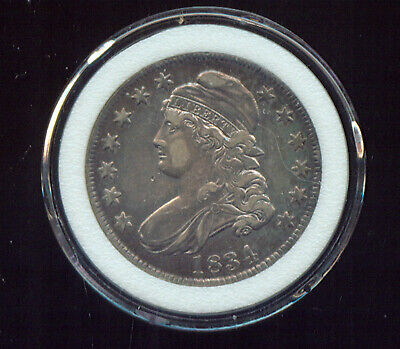 1834 Capped Bust Half Dollar (3G935)