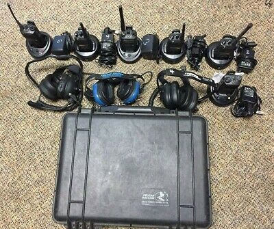 Racing radios / Headsets / Car setup CP200 / CP185 W/ Pelican Case
