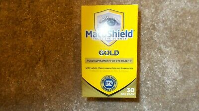 Macushield Gold 30 day pack BB 10/21
