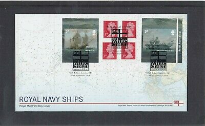 GB 2019 Royal Navy Ships retail stamp booklet Royal Mail FDC HMS Belfast spec pk