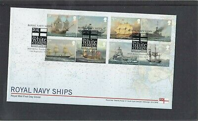 GB 2019 Royal Navy Ships Royal Mail FDC First Day Cover HMS Belfast London pmk