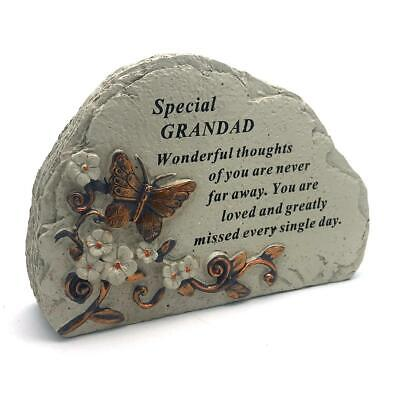 Grandad Graveside Memorial In Loving Memory Butterfly Design DF18387A