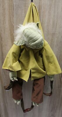 VIntage STAR WARS YODA Official Soft Character Backpack Bag  - M11