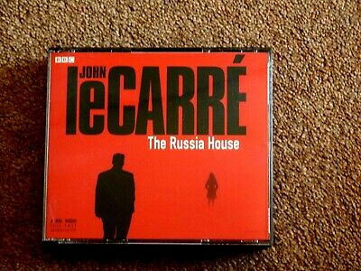 John Le Carre - The Russia House   - Audio Books - Talking Books    (  4 Cds )