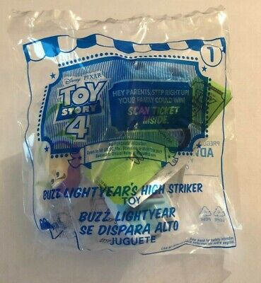 $2.85 MAX SHIPPING - 2019 McDonalds TOY STORY 4 Happy Meal Toy BUZZ LIGHTYEAR #1