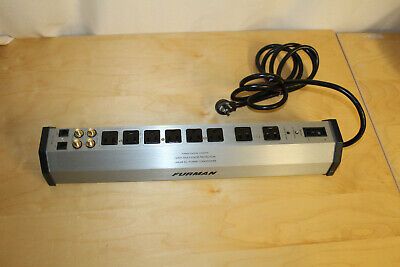 Furman Power Station PST-8D Power Conditioner Strip w/ SMP LiFT & EVS