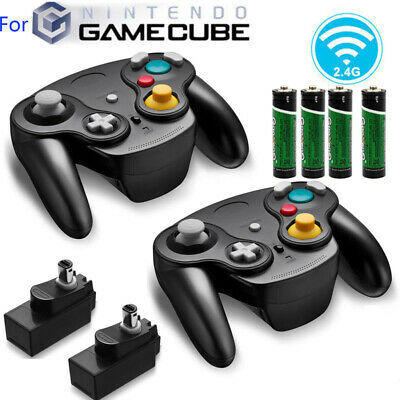 2Pack Wireless Controller Gamepad for NGC Nintendo GameCube GC & Wii Console