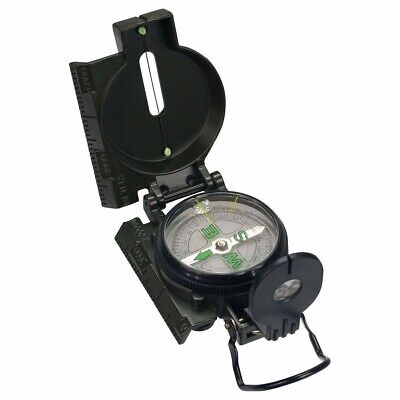 Military Style Lensatic Compass Professional Army Pocket Compass Metal I