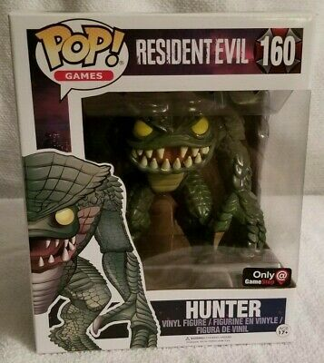 Funko Pop! Games Hunter #160, GameStop Exclusive, Resident Evil 20th Anniversary