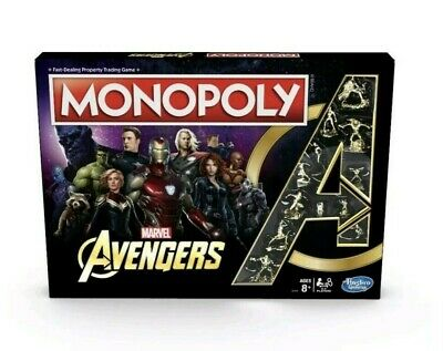 Monopoly Marvel Avengers Endgame Special Edition Hasbro Gaming