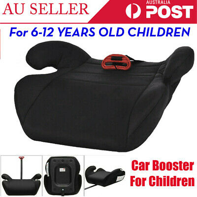 Children Kids Car Booster Seat Safety Chair Cushion Pad Sturdy Black AU Ship