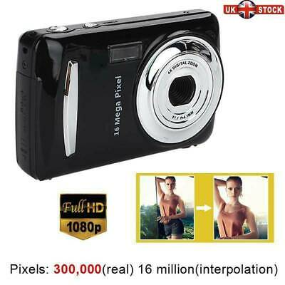 Mini Compact Digital Camera 16MP 1080P HD 2.4''TFT LCD Camcorder DV Video Gifts