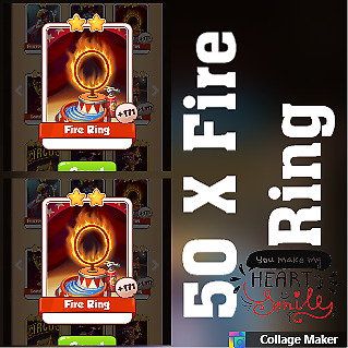 5 x Santa :- Coin Master Cards ( Fastest Delivery )
