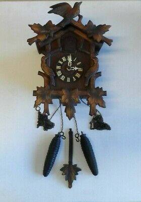 Vintage Black Forest Cuckoo Clock     14A