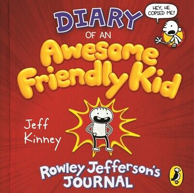 DIARY OF AN AWESOME FRIENDLY KID, Kinney, Jeff