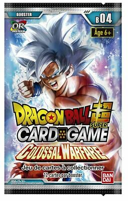 Dragon Ball Super Card Game ! Booster Colossal Warfare BT4/VF !