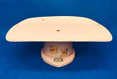 Baby Scale Rexall Drug Co Vintage Pink Infant Nursery 1949