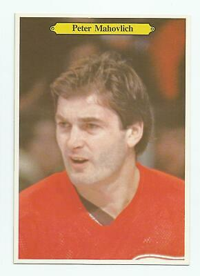 1980-81 OPC 5x7 GIANT PHOTOS #6 PETER MAHOVLICH DETROIT RED WINGS O-PEE-CHEE