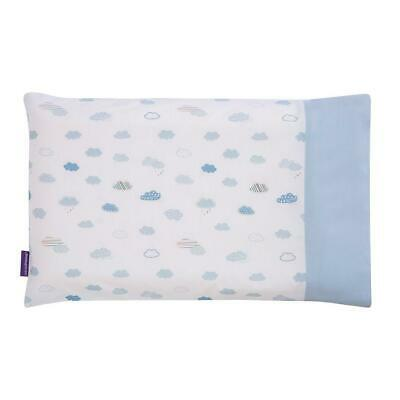 Clevamama Replacement Baby Pillow Case Cover (Blue - 3304) Approx 39x23cm