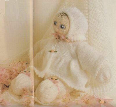 Baby Doll & Layette  Toy Knitting  Pattern~Vintage
