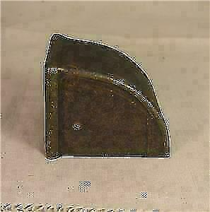 4 Brass Plated Duncan Phyfe Feet Foot Caps Furniture Hardware Parts Pieces '