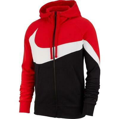 NIKE FELPA FULL ZIP CON CAPPUCCIO HYBRID FT STATEMENT