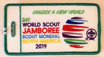 OFFICIAL 2019 24th World Scout Jamboree  Luggage Tag - ENGLISH Version
