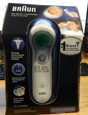 Braun No Touch Forehead Thermometer Ntf 3000 New