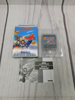 SPACE HARRIER Sega Game Gear Game BOXED Complete CIB VGC Very Good    - F09