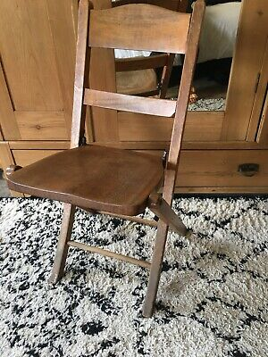 Antique/Vintage/Victorian Wooden Folding Chair