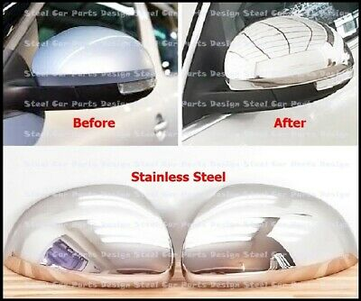 VW stainless steel mirror caps for Sharan 2011 and Tiguan 2008 2016-5N0072530Q91