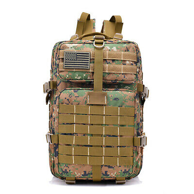 40L Sport Outdoor Military Rucksacks Tactical Backpack Camping Hiking Travel Bag
