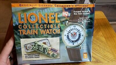 Lionel Collectible Legendary Train Watch Motion & Sounds Telebrands #2