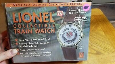 Lionel Collectible Legendary Train Watch Motion & Sounds Telebrands #3
