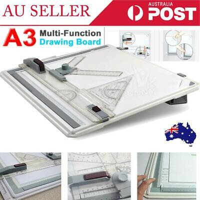 AU New A3 Drawing Board Table with Parallel Motion and Adjustable Angle Drafting