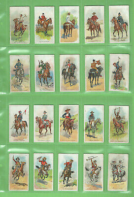 #Gg1.   Set(50)  1913  Riders Of The World  Wills  Cigarette Cards