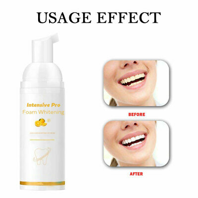 30ml Toothpaste Whitening Foam Natural Mouth Wash Water Teeth Whitening NEW