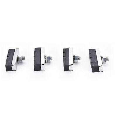 Vintage Classic Brake Block For Bike Cycle Bicycle Cycling Caliper Pads Blac B&Y