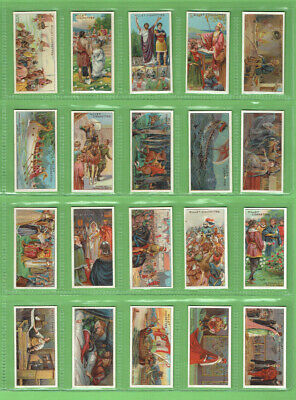 #Gg1.   Set (50) Of  1913  Historic Events  Wills   Cigarette Cards