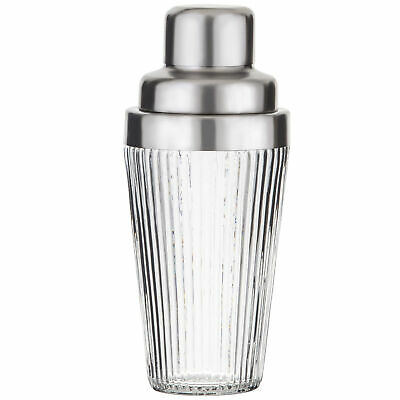 NEW Kezie Metal & Glass Cocktail Shaker - SocietyHome,Barware & Accessories