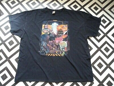 Mens 90S Vintage Power Grid  T Shirt Gc Xxxl Hipster Festival Rave Oversized