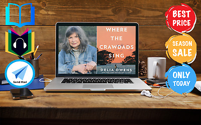 Where The Crawdads Sing Official AudioBook + eBo0K FREE & FAST eDELIVERY
