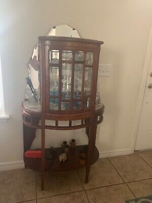 French Cocktail cabinet with wood furniture