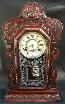 Antique ANSONIA CLOCK manufactured by the ANSONIA CLOCK CO. NEW YORK, USA
