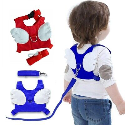 Baby Kids Safety Wing Walking Harness Toddler Anti-lost Belt Backpack Reins