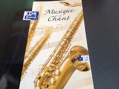 cahier musique et chant 48 pages Oxford neuf