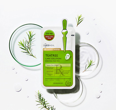 Korea MEDIHEAL Teatree Care Solution Essential mask sheet pack Skin care