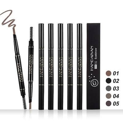 HANDAIYAN Double Ended Eyebrow Pencil Pen Long Lasting Waterproof Makeup 5Colors